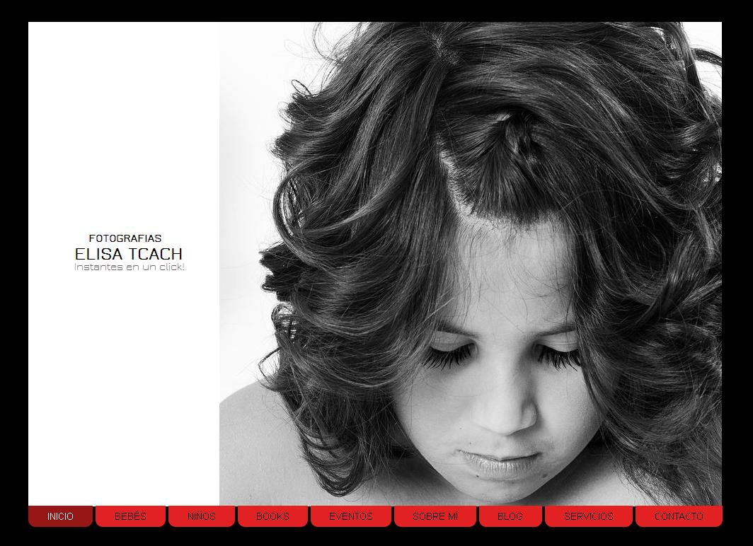 Elisa Tcach estrena web