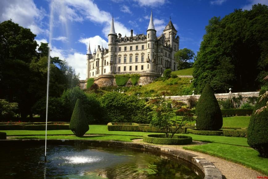 Castillo Sutherland (Escocia)