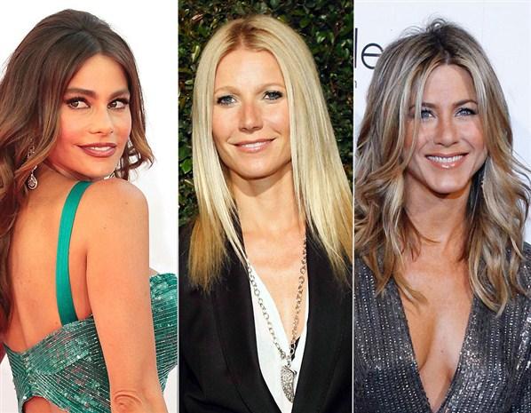 Sofía Bergara, Gwyneth Paltrow y Jennifer Aniston
