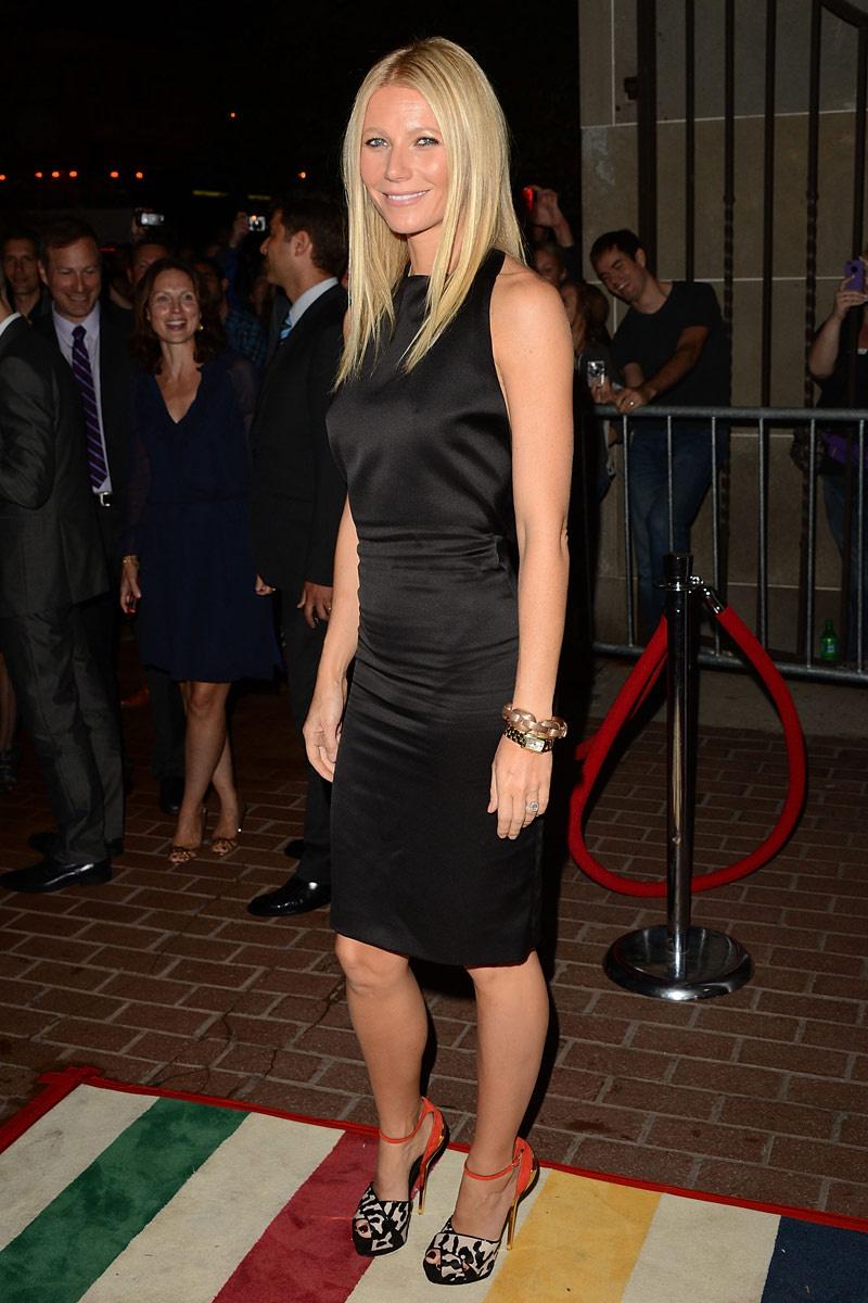 Gwyneth vestido noche