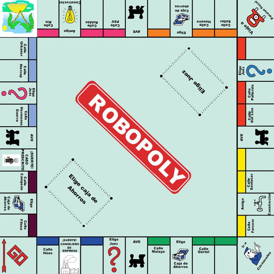 Robopoly, el juego de nuestros políticos