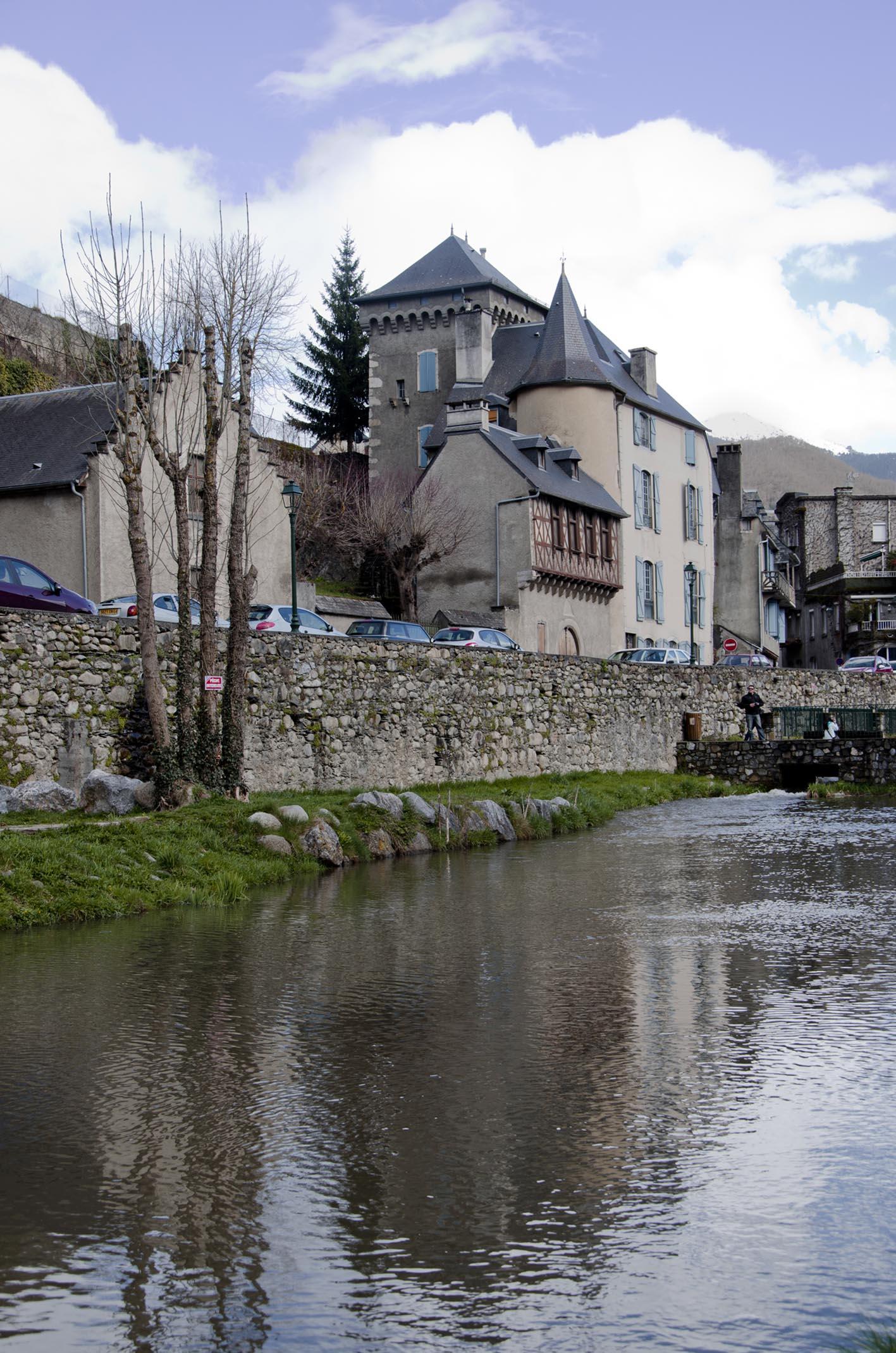 Paseando por Arreau, Francia