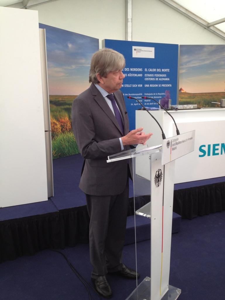 Reinhard Silberberg, embajador alemán en España
