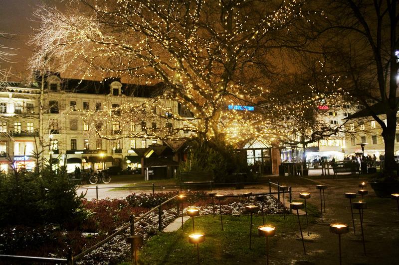 Plaza Gustav Adolfs. Fotografía de Miriam Preis